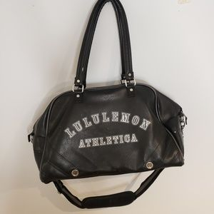 Lululemon Athletica Vintage Duffle Travel Bag